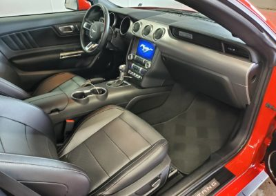 Superior Auto Detail Hartville, OH Interior Mustang
