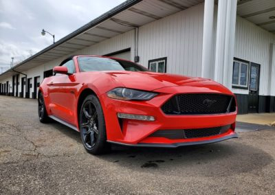 Superior Auto Detail Hartville, OH Red Mustang