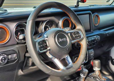 Superior Auto Detail Hartville, OH Jeep Interior