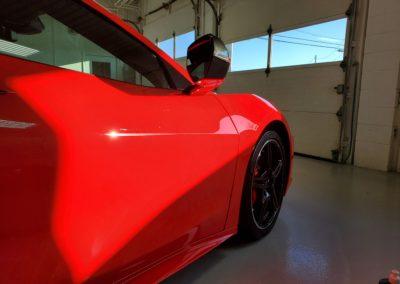 Superior Auto Detail Hartville, OH Ceramic Coating Red